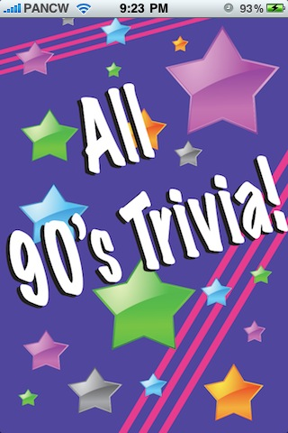 Screenshot All 90's Trivia